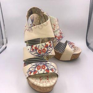 "5"" Wedge Sandals sz 8.5"
